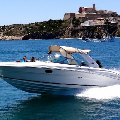 SeaRay290 N1-boat hire ibiza